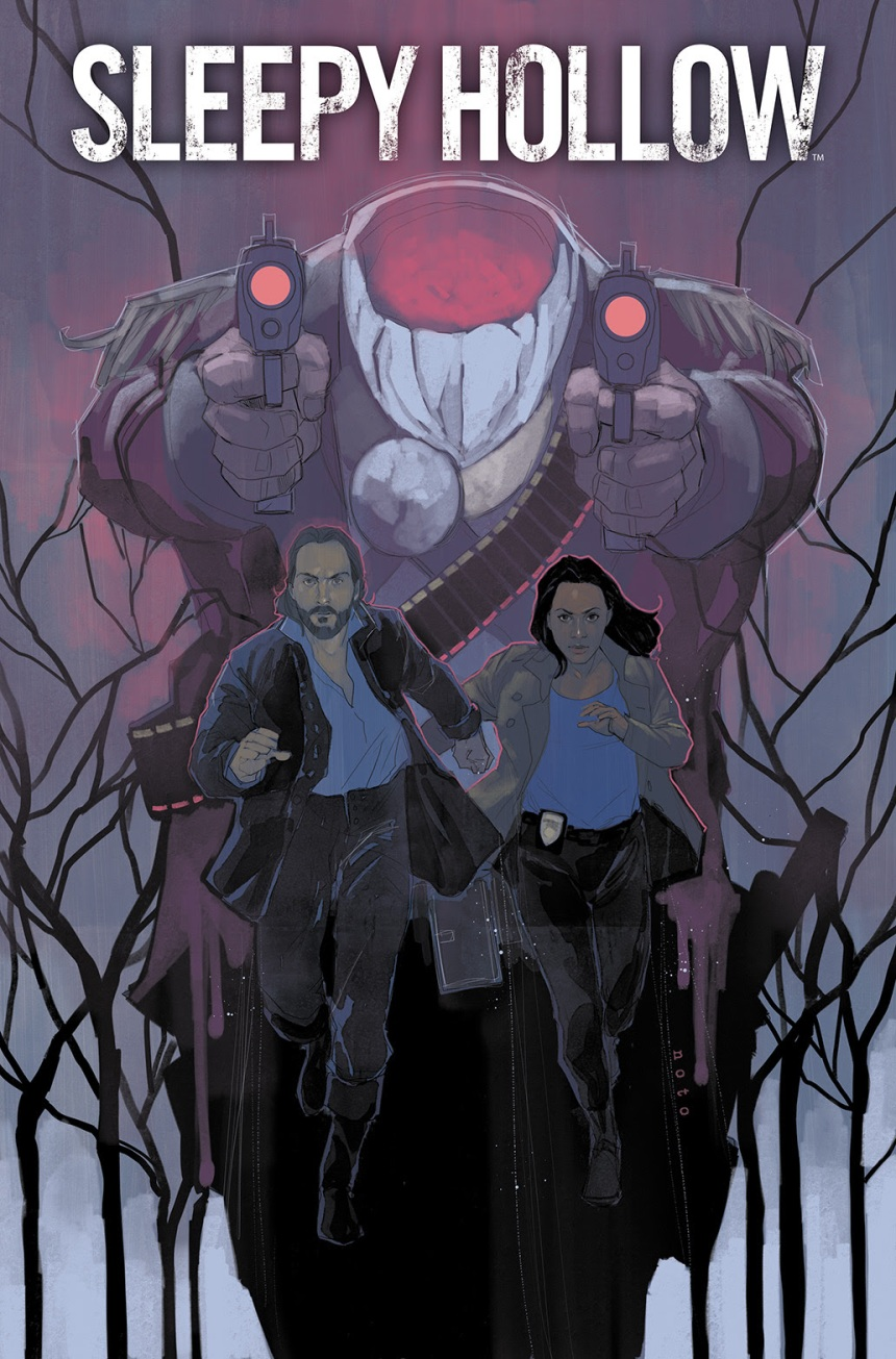 sleepy hollow 1 cover  Phil Noto