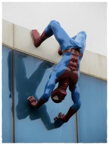 spider-man erection