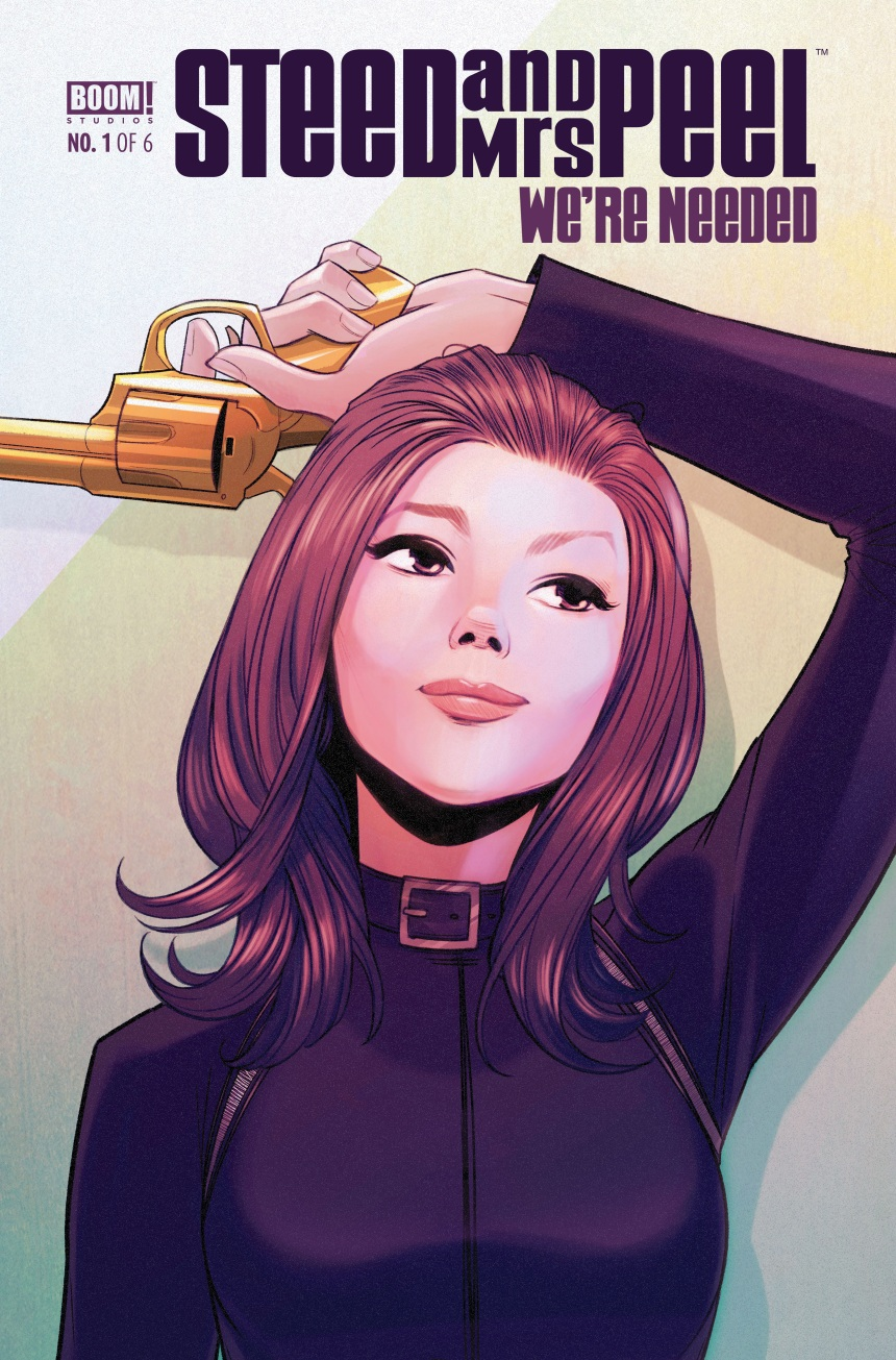STEED AND MRS. PEEL WE'RE NEEDED #1 Cover A by Stacey Lee