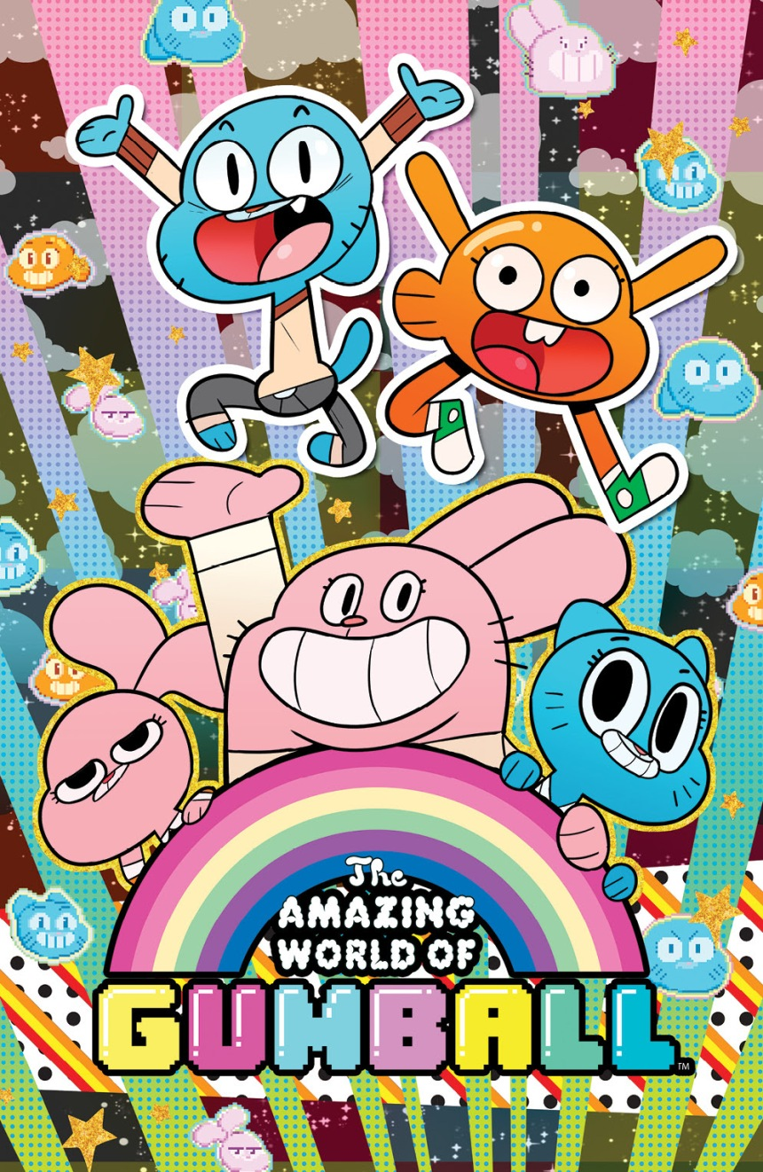 THE AMAZING WORLD OF GUMBALL #1 Denver Comic Con Cover by Tyson Hesse