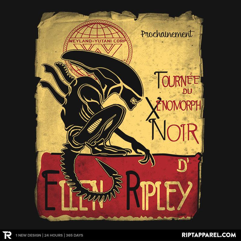 Tournee du Xenomorph Noir