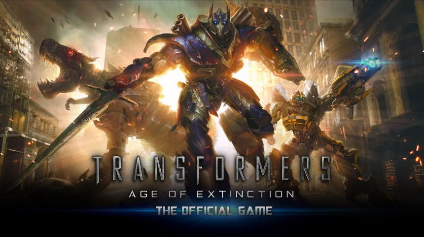 TRANSFORMERS Age of Extinction Key Art