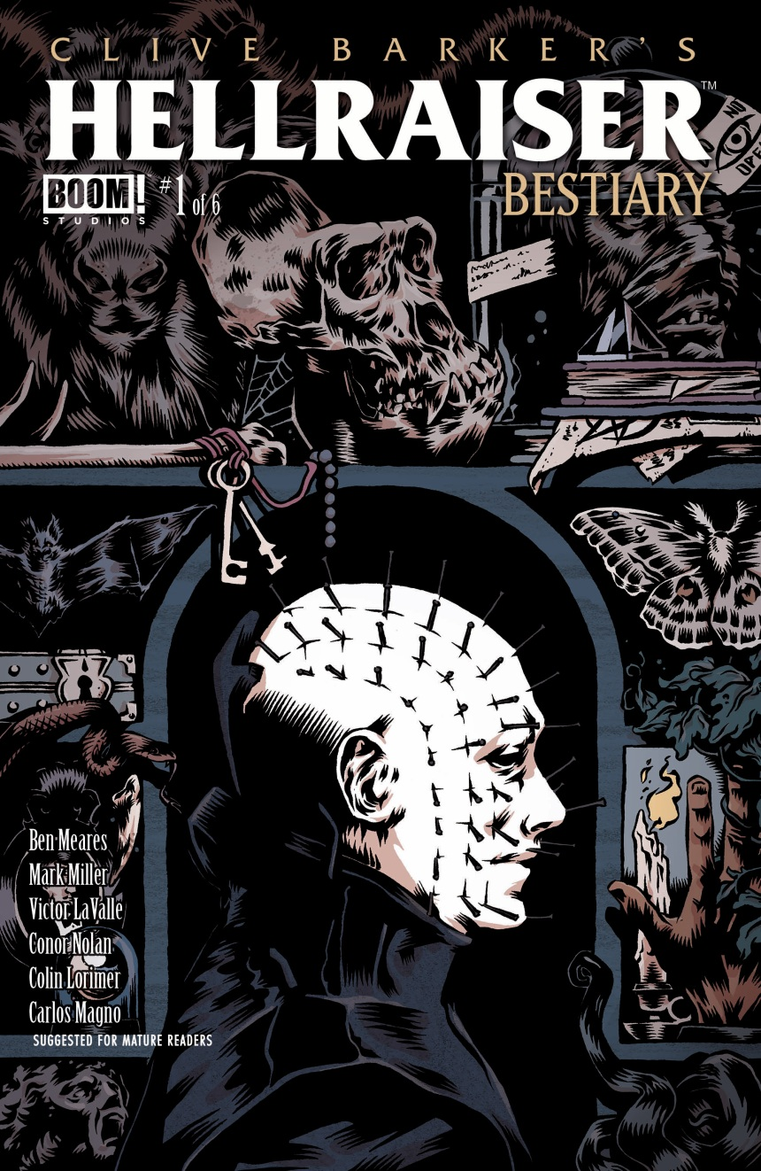 CLIVE BARKER'S HELLRAISER BESTIARY #1 Main Cover by Conor Nolan