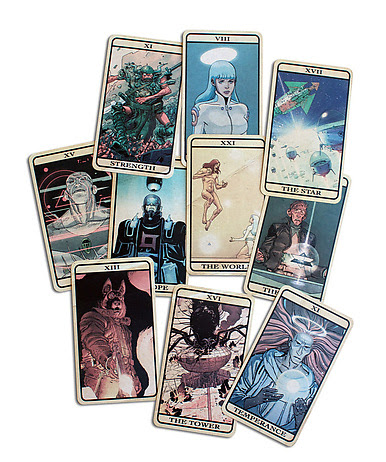 Final Incal-inspired Tarot Cards