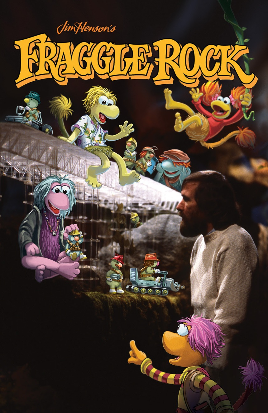 FRAGGLE ROCK JOURNEY TO THE EVERSPRING #1 Incentive Cover by