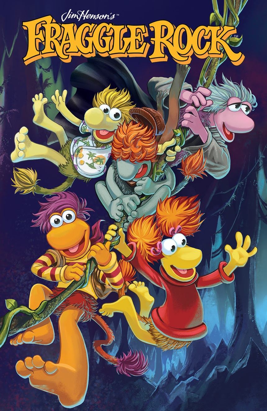 FRAGGLE ROCK JOURNEY TO THE EVERSPRING #1 Main Cover by