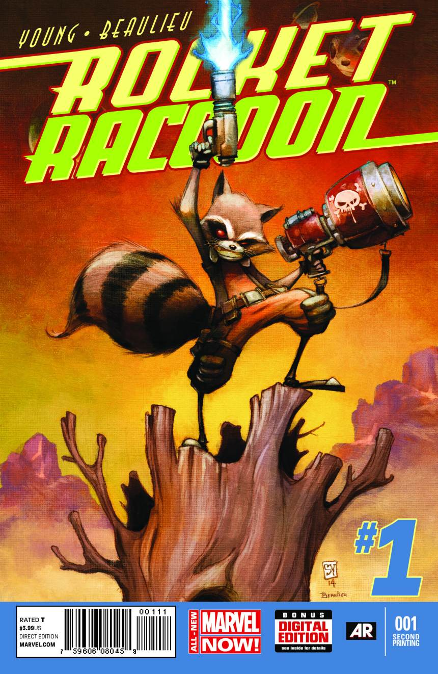Rocket_Raccoon_1_Second_Printing_Variant