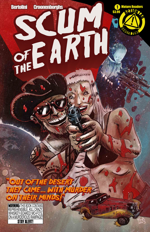 Scum of the Earth #1 Cover A