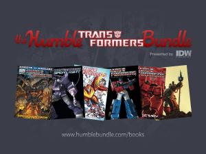 transformers humble bundle