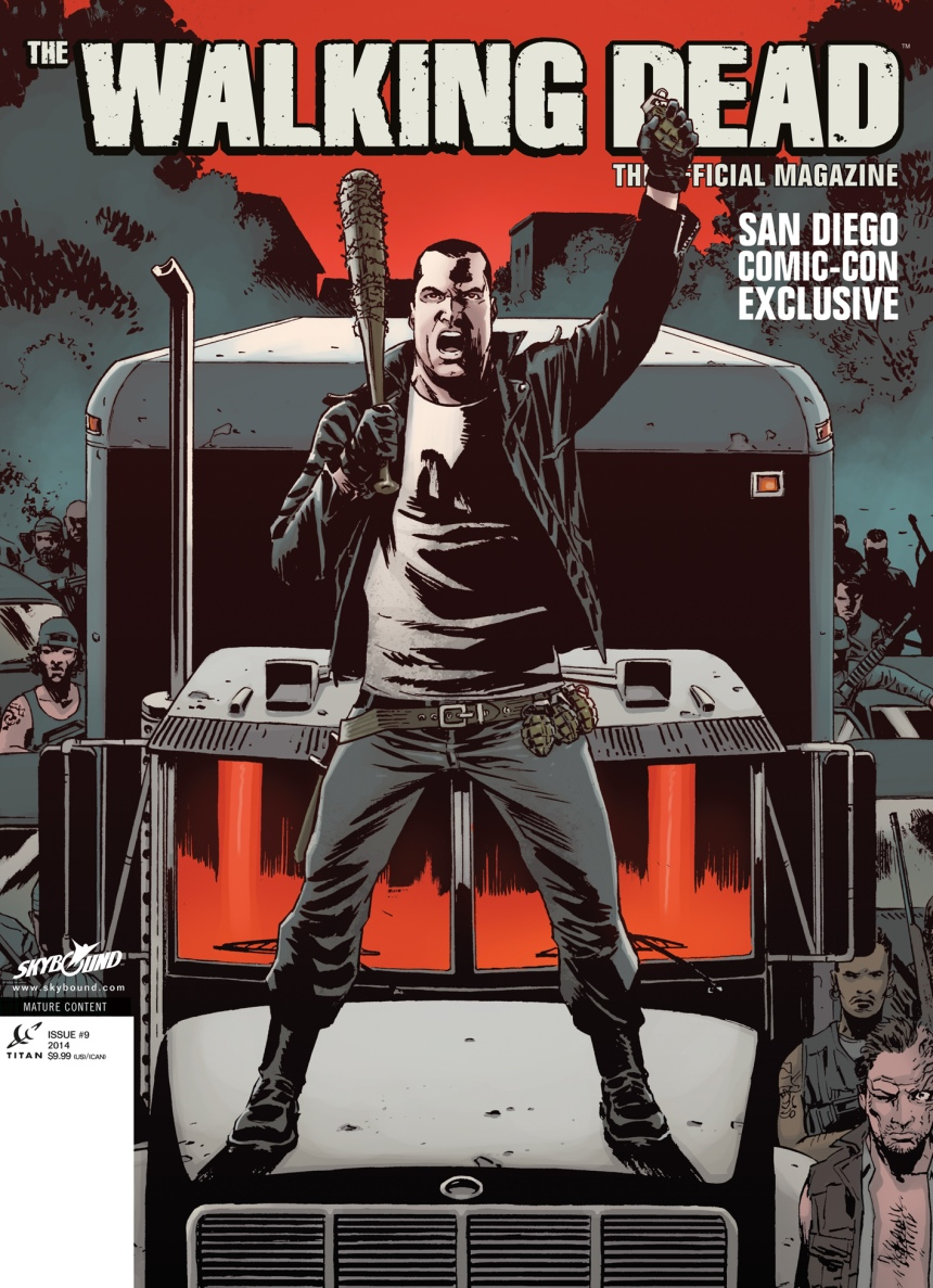 Walking Dead Magazine #9 San Diego Exclusive Cover