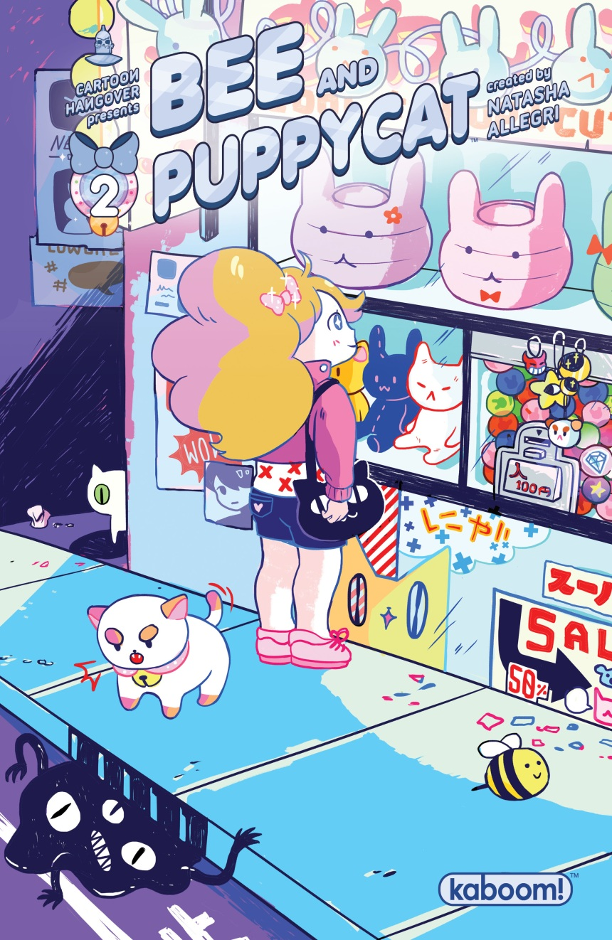 BEE AND PUPPYCAT #2 Second Printing Cover by Buntoo