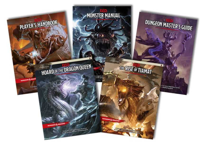 D&D Tyranny of Dragons Product Line-Up