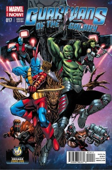 guardians of the galaxy wizard world chicago variant