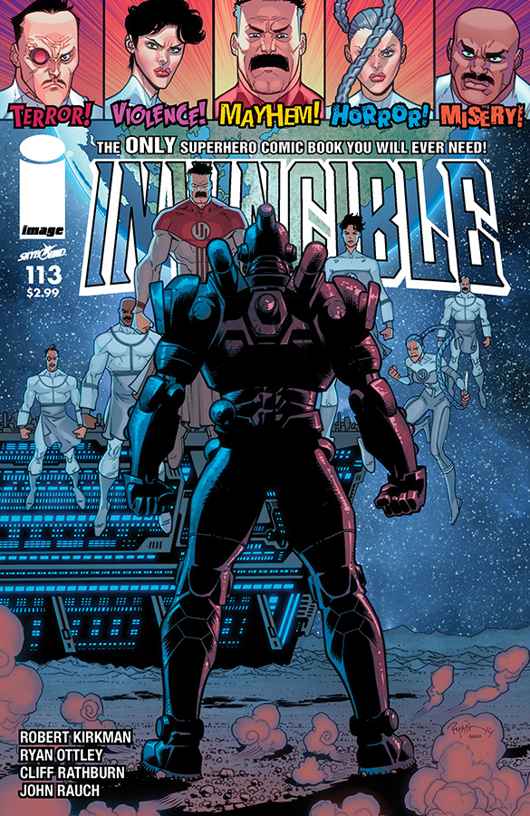 Invincible113_Cover