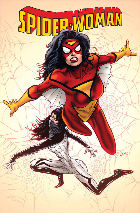 spider-woman 1 greg land