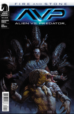 alien vs predator fire and stone 1 cover