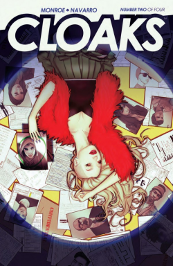 Cloaks #2 cover