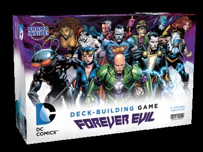 DC COMICS DECK-BUILDING GAME FOREVER EVIL box