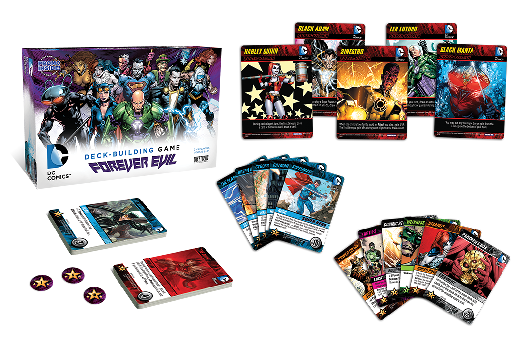 Cryptozoic Deck Building Games
