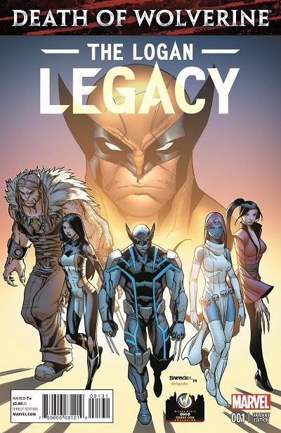 Marvel Comics & Wizard World's Death Of Wolverine: The Logan Legacy #1 Ohio Comic Con Variant
