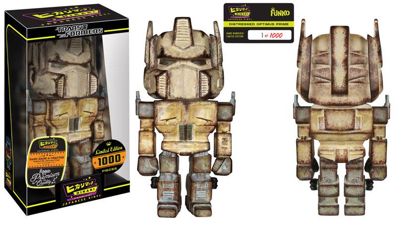 Distressed Optimus Prime Premium Hikari Sofubi Figure