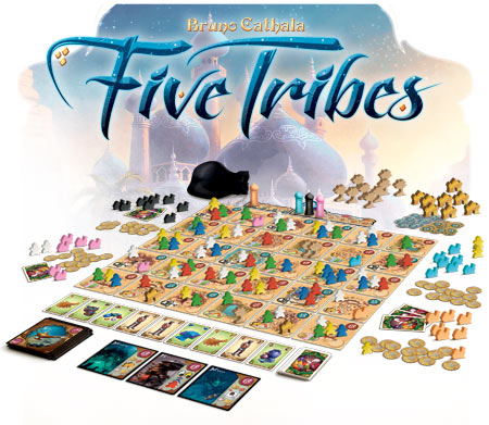 Five-Tribes-setup