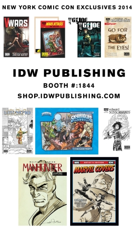 idw publishing nycc 2014