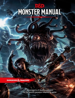 Monster Manual Cover Art