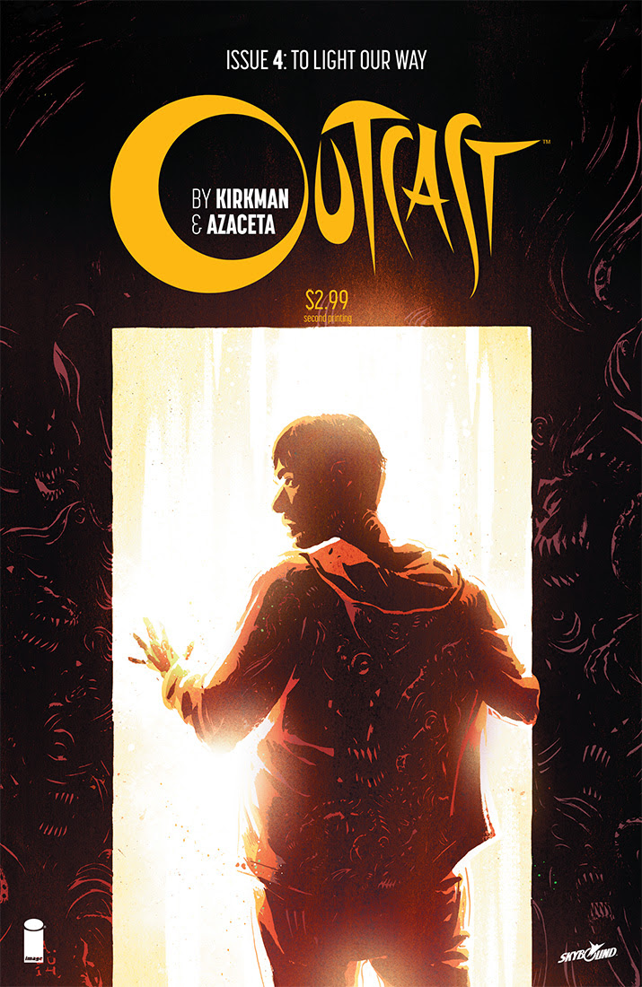 Outcast 4 second printing