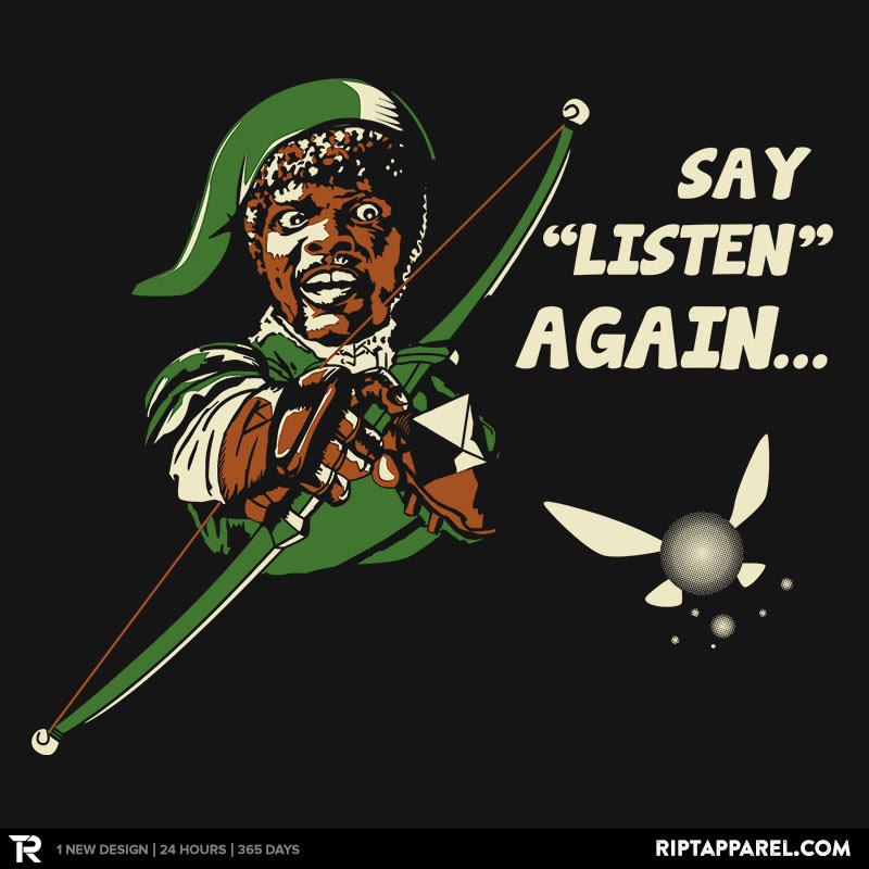 Say Listen Again