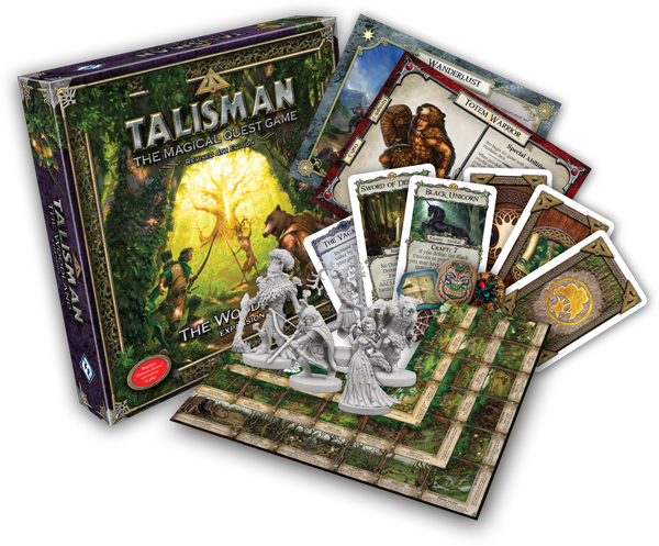 Talisman The Woodland Contents