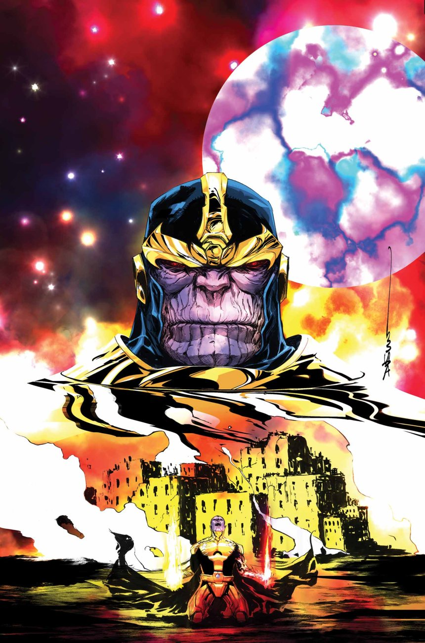 Thanos_A_God_Up_There_Listening_1_Cover