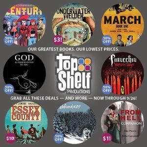 The 2014 Top Shelf Massive $3 Sale