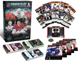 The NHL Power Play - Team-Building Card Game