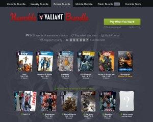 VALIANT_HUMBLE BUNDLE_front page