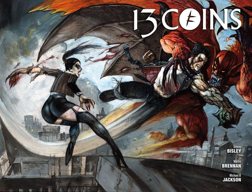 13 COINS #6_Simon Bisley Wraparound Cover