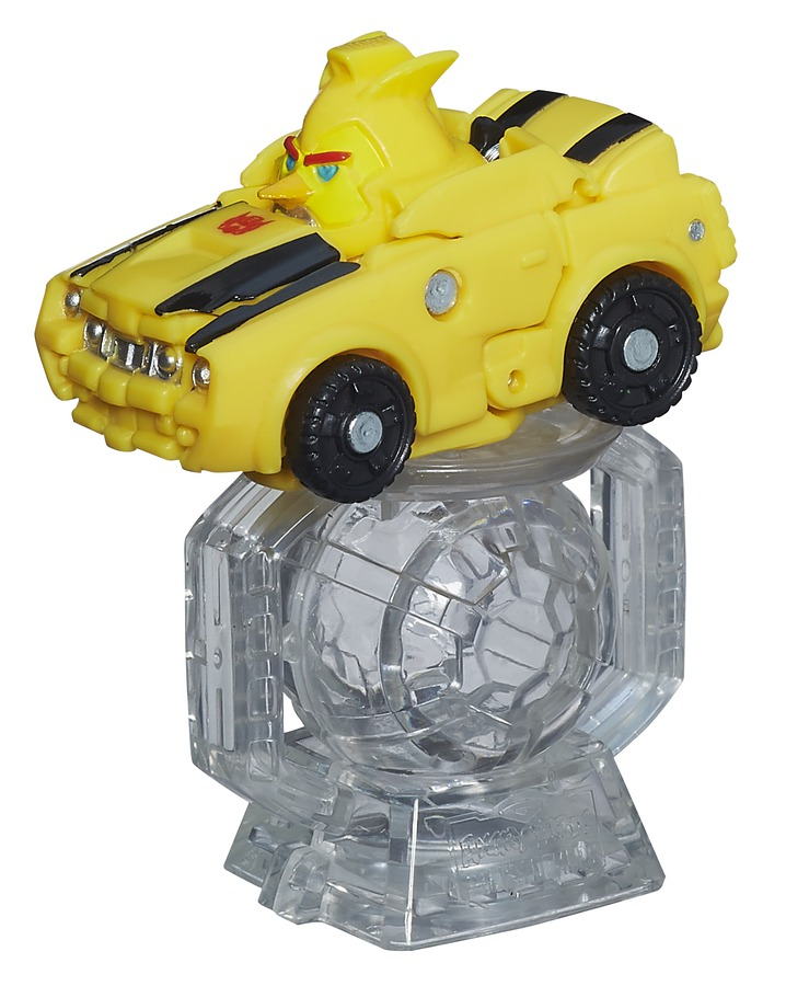 ANGRY BIRDS TRANSFORMERS TELEPODS RACER PACKS BUMBLEBEE BIRD vehicle A8448