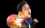 Baymax Rocket Fist and Mask