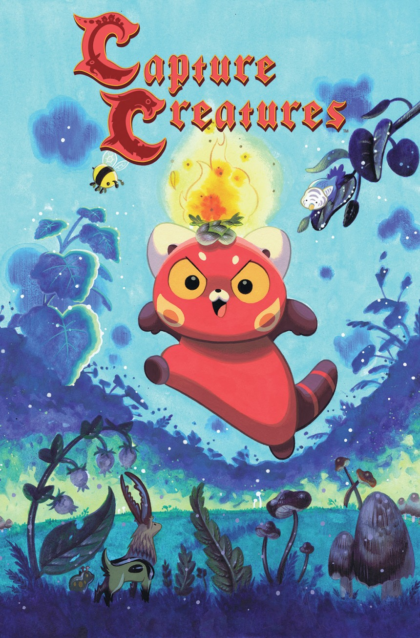 Capture Creatures #1 Main Cover A by Becky Dreistad
