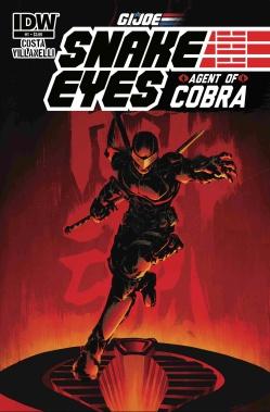 G.I. JOE Snake Eyes Agent of COBRA