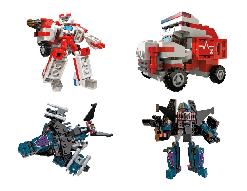 KRE-O TRANSFORMERS KREON BATTLE CHANGERS RATCHET SOUNDWAVE VS PACK