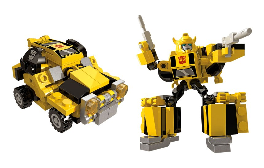 KRE-O TRANSFORMERS KREON BATTLE CHANGERS wv1 Bumblebee