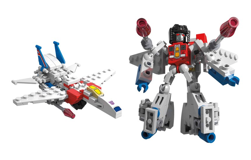 KRE-O TRANSFORMERS KREON BATTLE CHANGERS wv1 Starscream