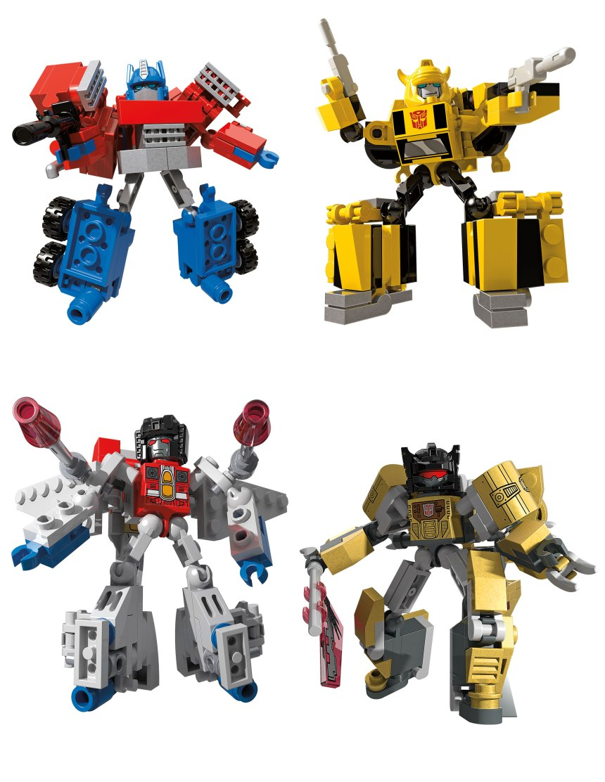 KRE-O TRANSFORMERS KREON BATTLE CHANGERS wv1