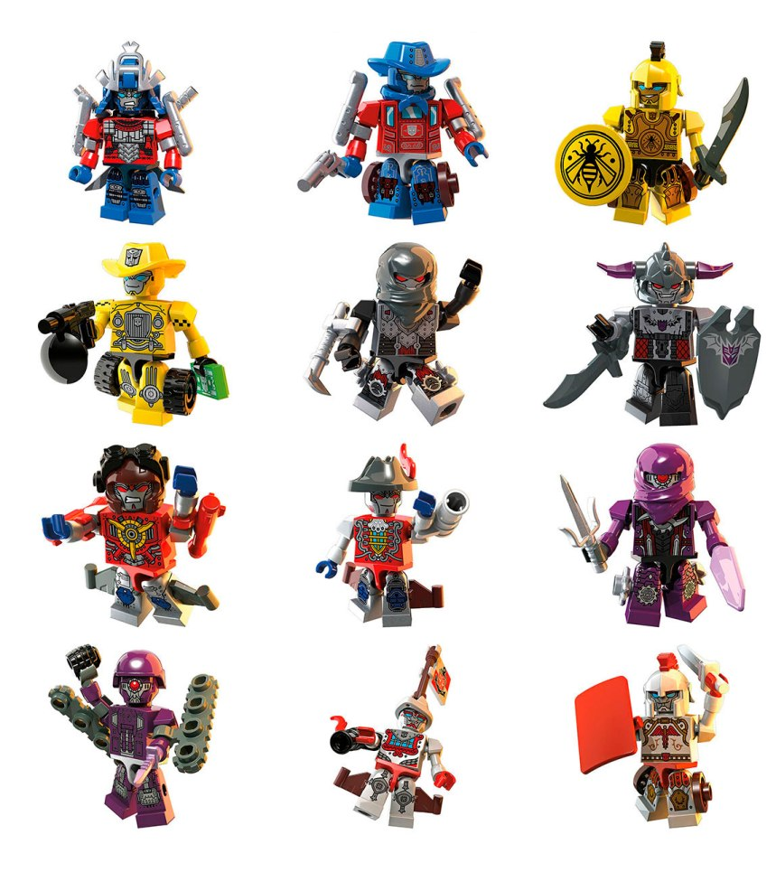 KRE-O TRANSFORMERS KREON WARRIORS Wv1
