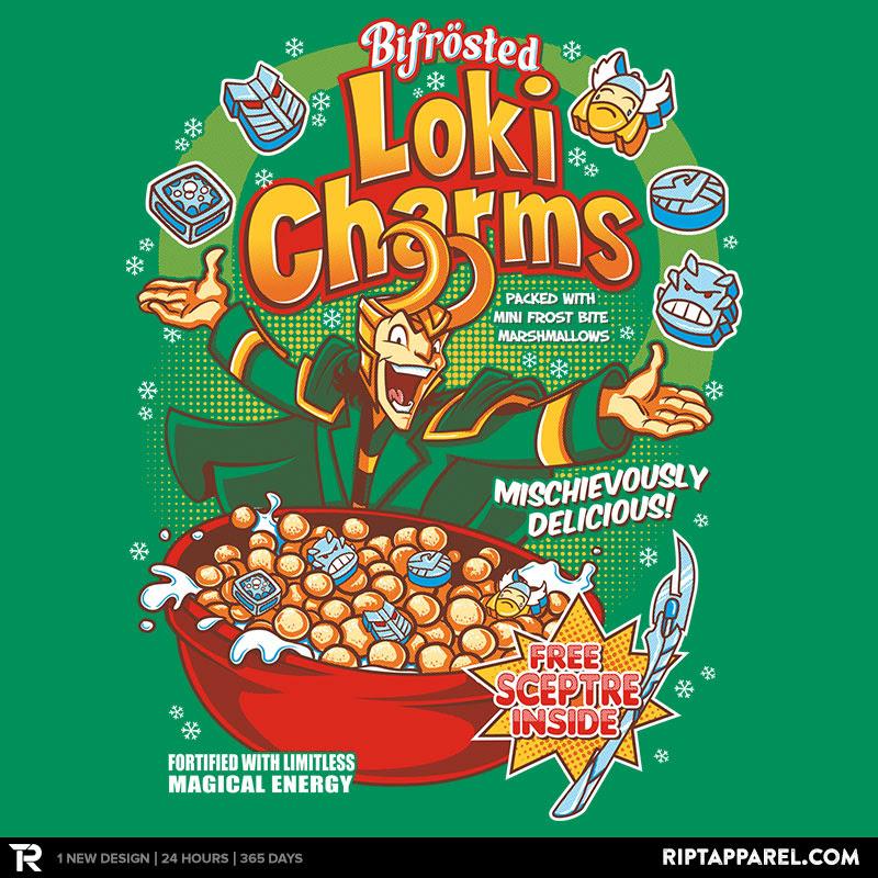 Loki Charms Reprint