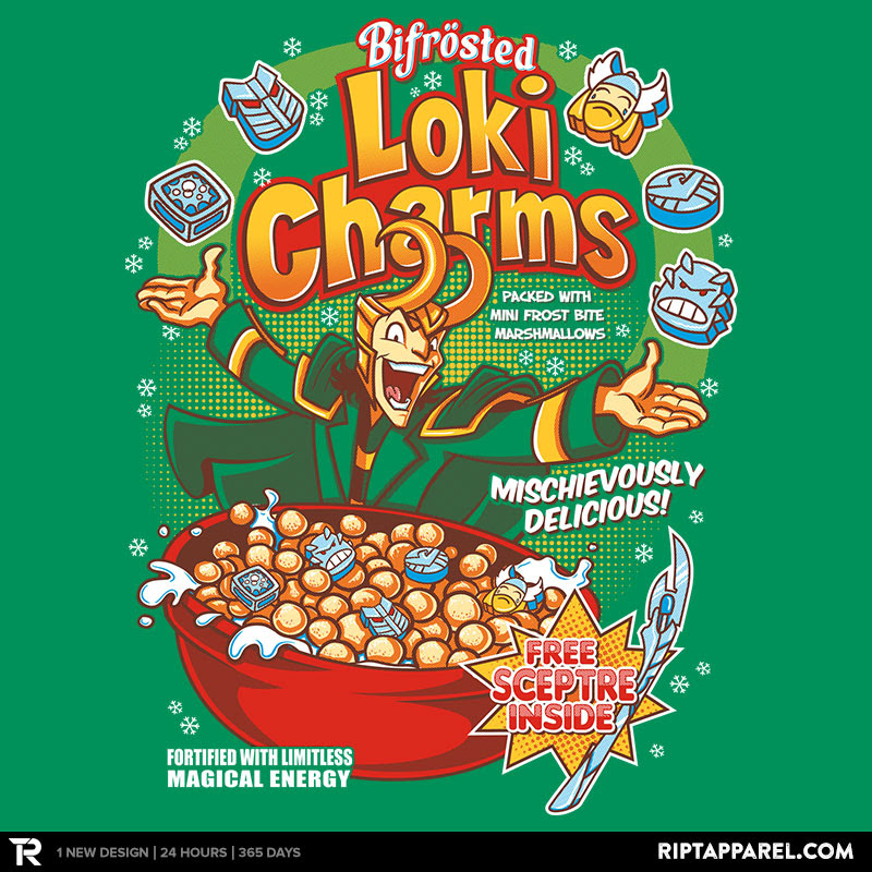 Loki Charms Reprint