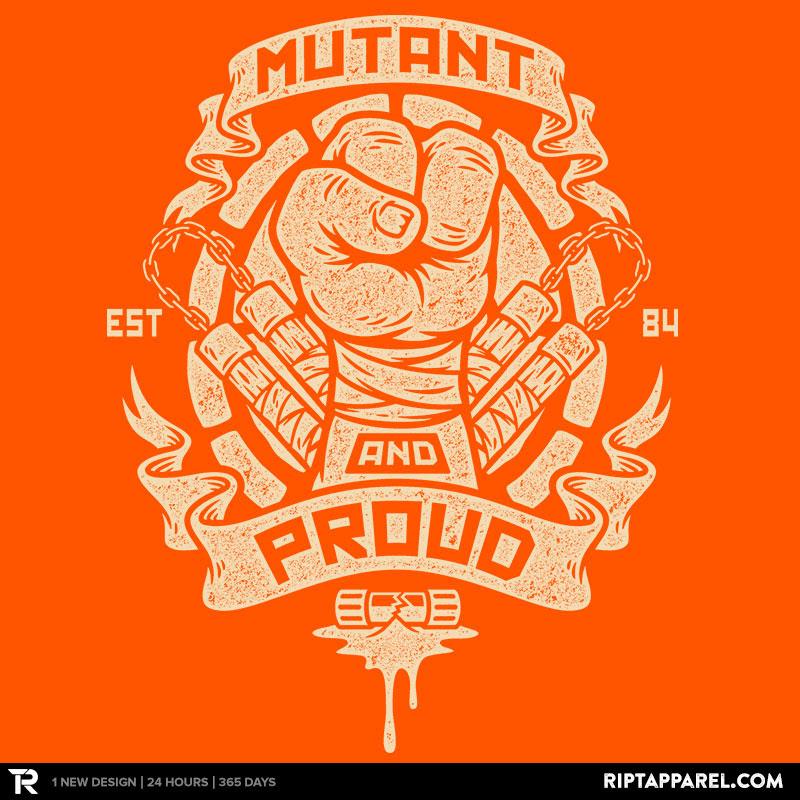Mutant and Orange!