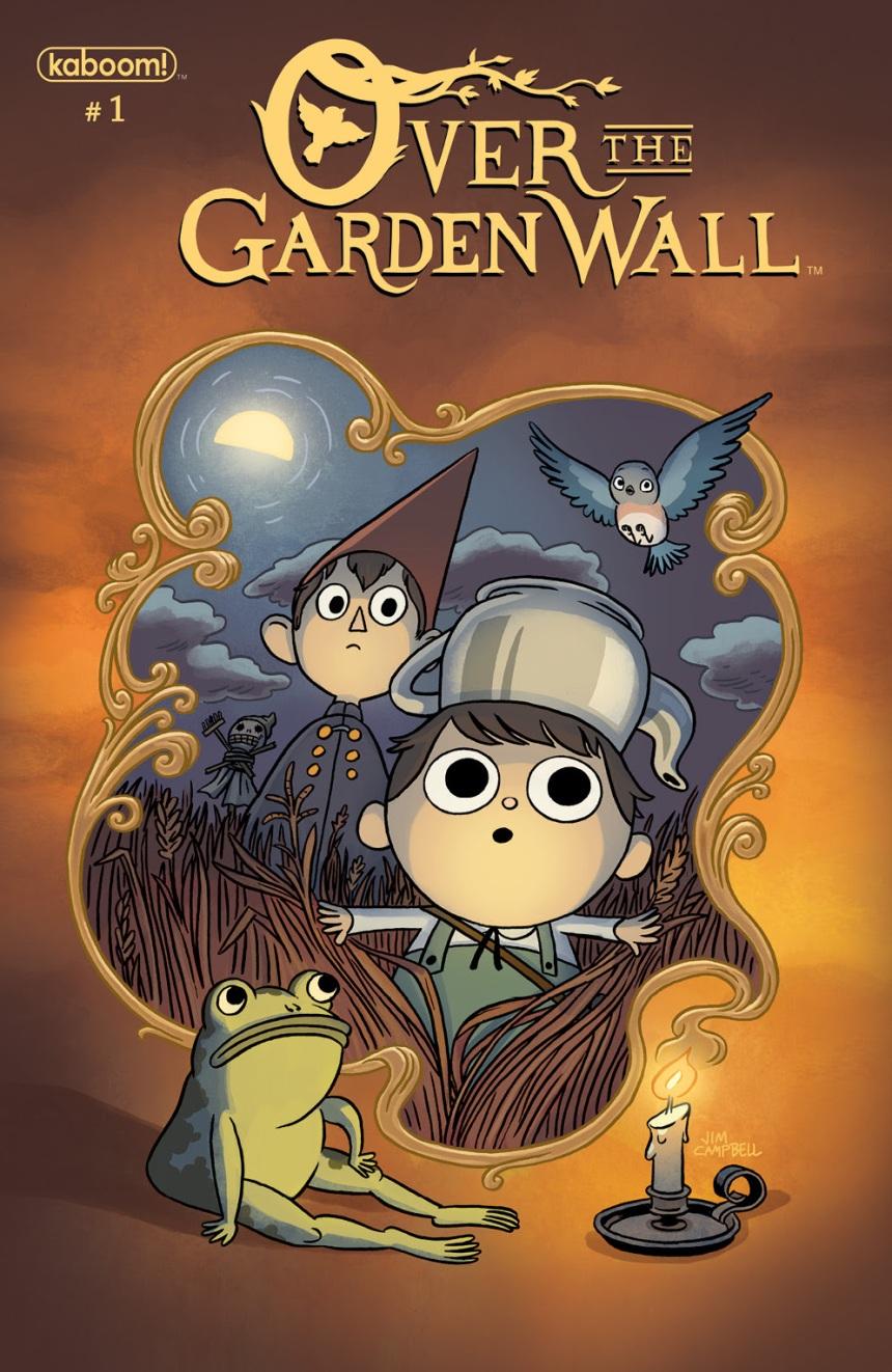 OVER THE GARDEN WALL Main Cover