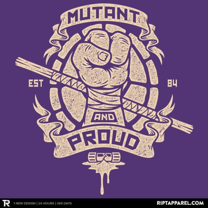 Purple and Proud!